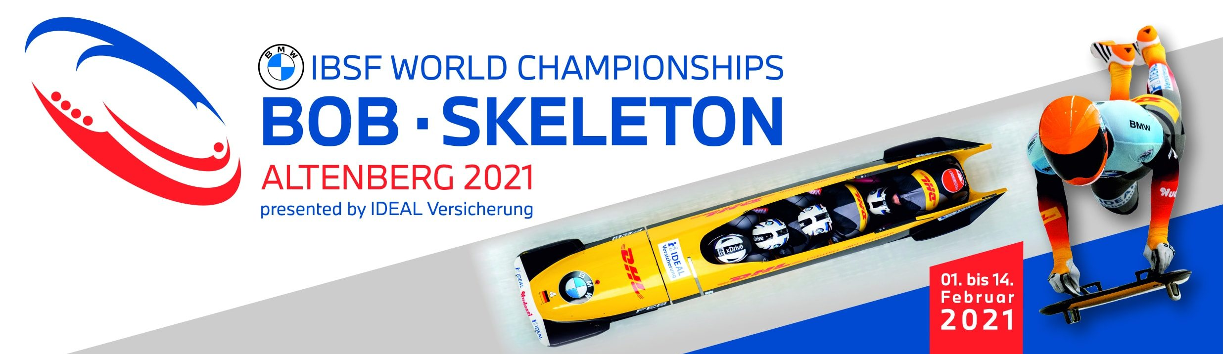 Bob + Skeleton WM 2021 Altenberg