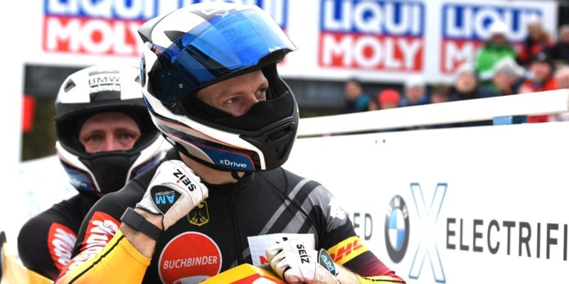 2 man Bob half time BMW IBSF World Championships 2020 Altenberg Friedrich
