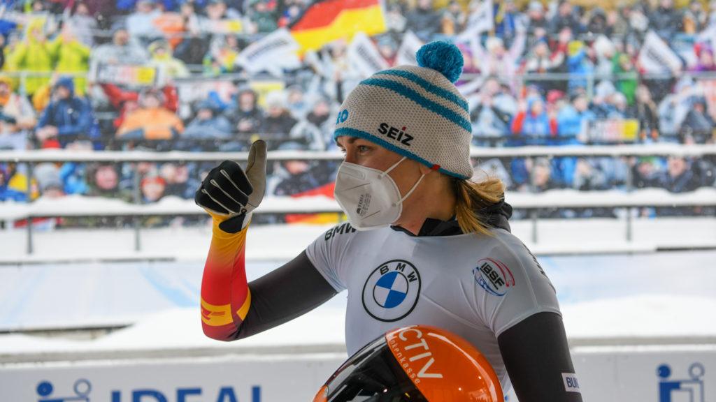 BMW IBSF WCh 2021 Altenberg_WSkel halftime_Loelling 2
